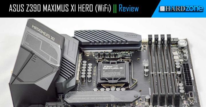 ASUS Z390 MAXIMUS XI HERO (WiFi), review: análisis y prueba en
