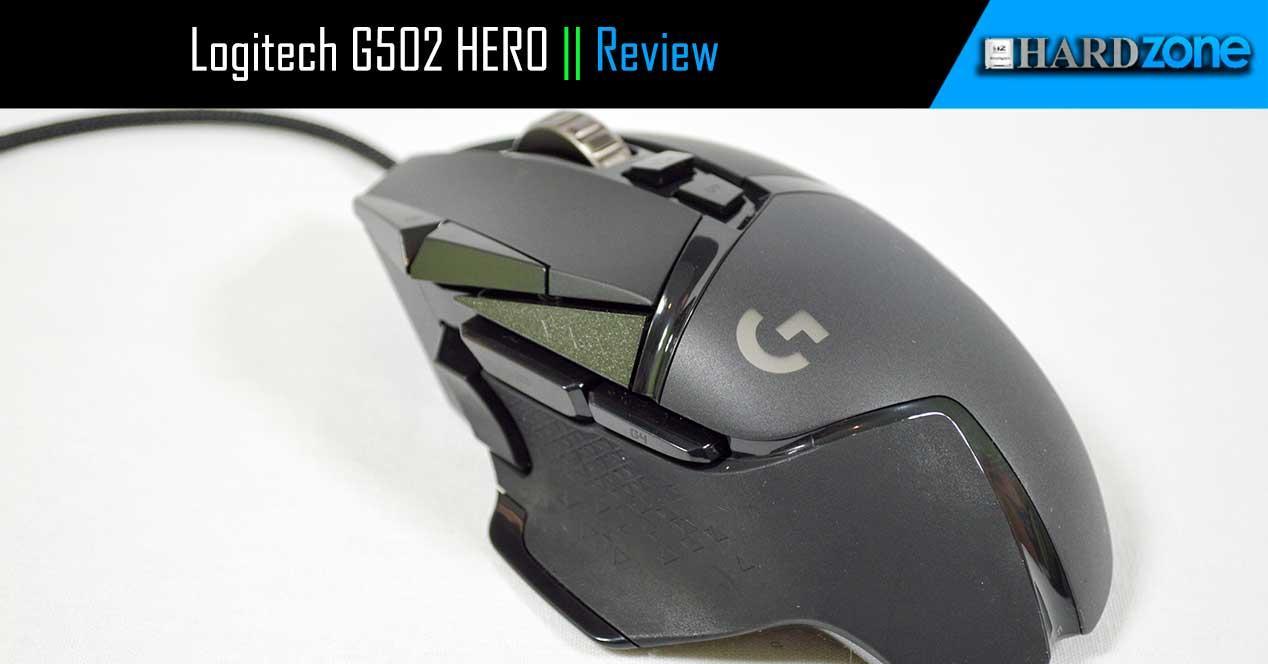 Review Logitech G502 HERO
