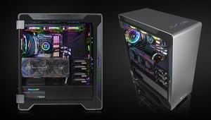 Thermaltake A500 Aluminium TG: caja con frontal de aluminio, cristal templado y USB C