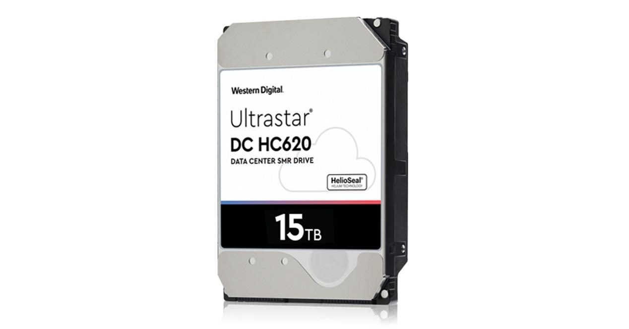 Ver noticia 'Western Digital Ultrastar DC HC620: el primer disco duro de 15 TB'