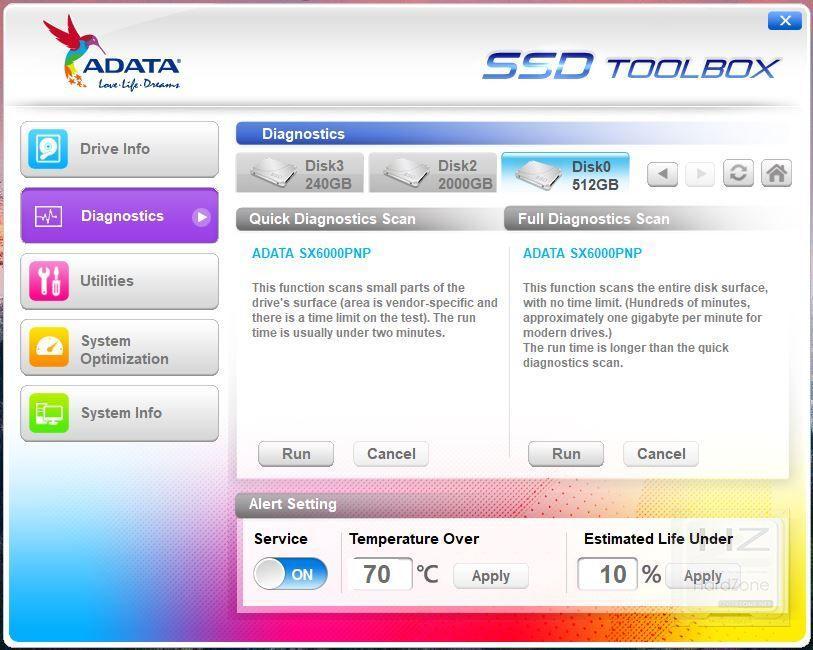 XPG SX6000 Pro - Benchmark 2
