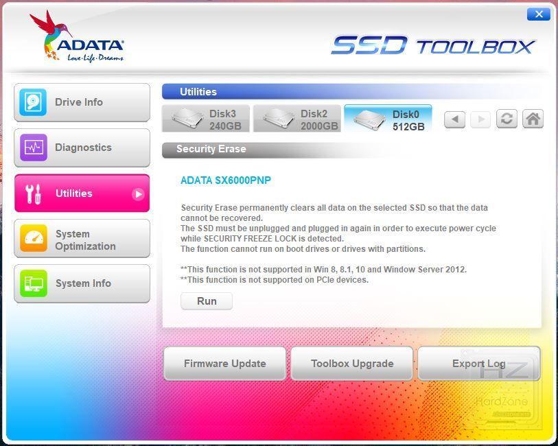 XPG SX6000 Pro - Benchmark 3