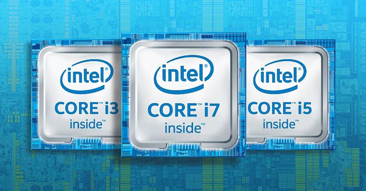 Gamas Intel Core
