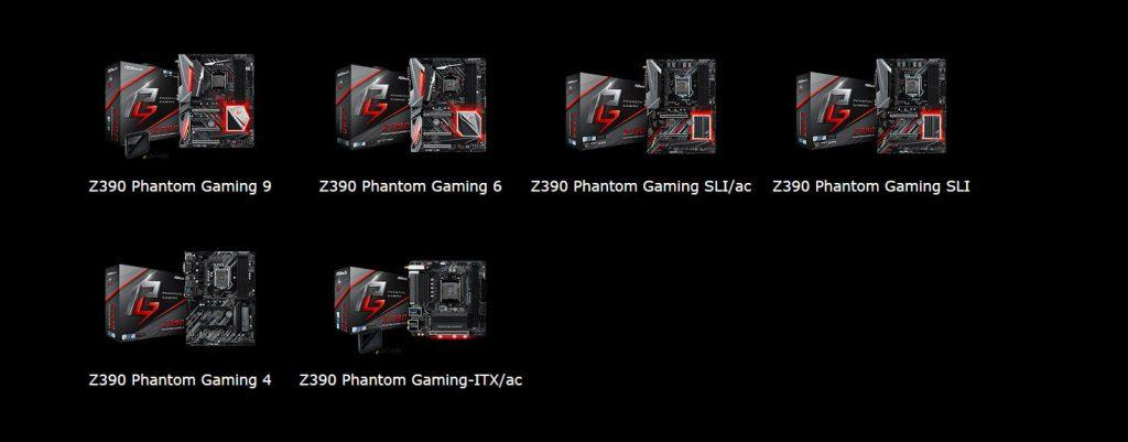 Phantom Gaming Z390 1