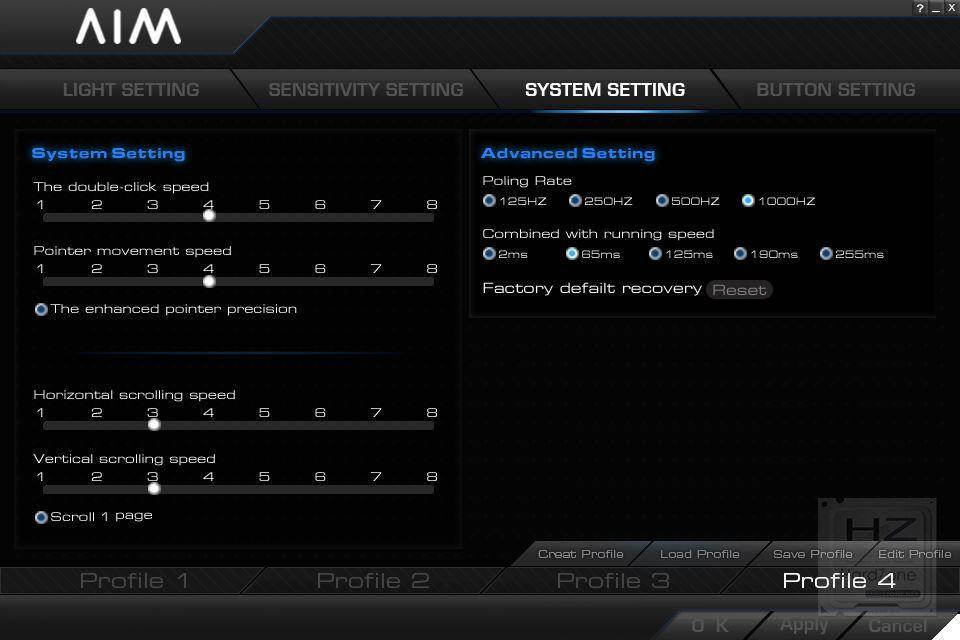 ratóngaming AIM E-SPORTS - Software 3