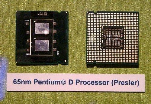 Intel Pentium D dual core