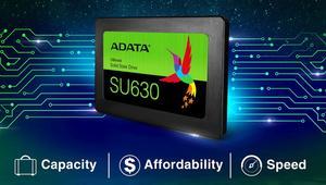 ADATA Ultimate SU630: nuevos SSD con memoria 3D QLC hasta 960 GB