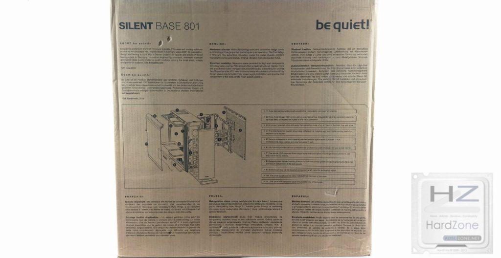 Be Quiet! Silent Base 801 Window Black -001