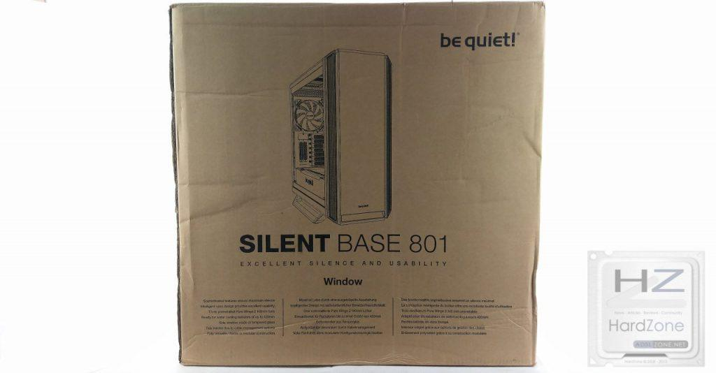 Be Quiet! Silent Base 801 Window Black -002