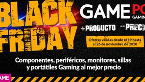 Black Friday en GAME: grandes ofertas en ordenadores, hardware y periféricos gaming