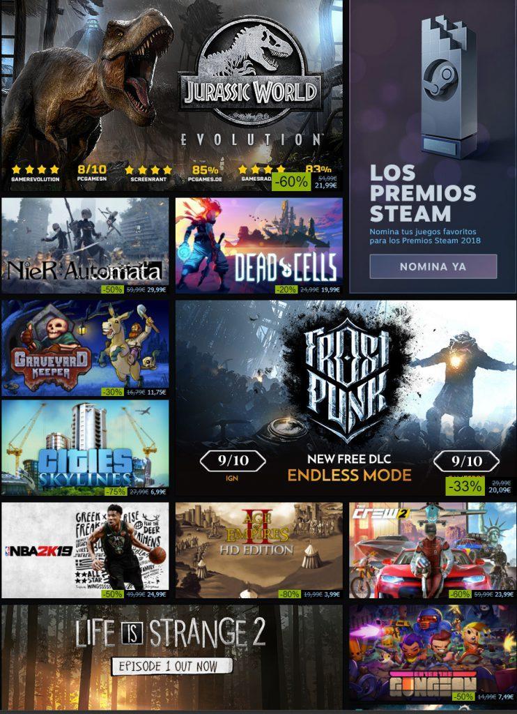 Destacados-Steam-Otoño-2018