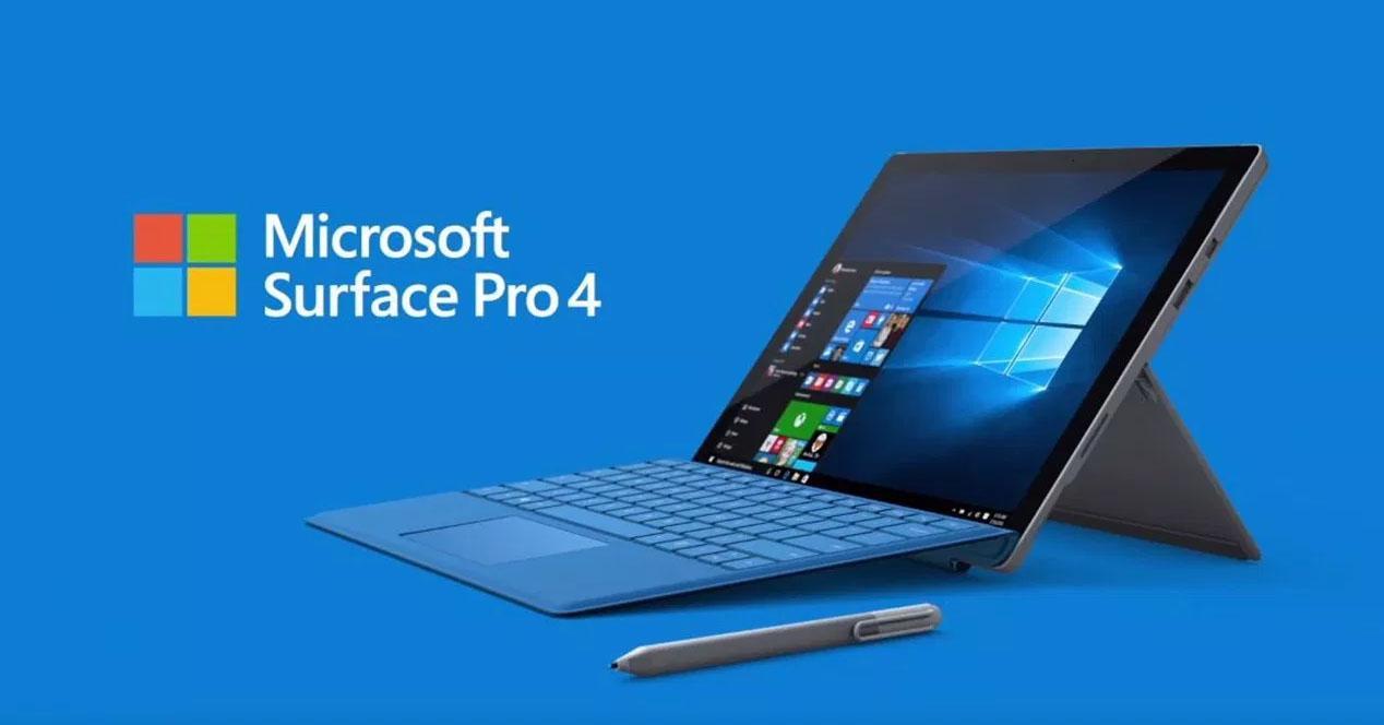 Ver noticia 'Una actualización se está cargando las pantallas de las Surface Pro 4 de Microsoft'