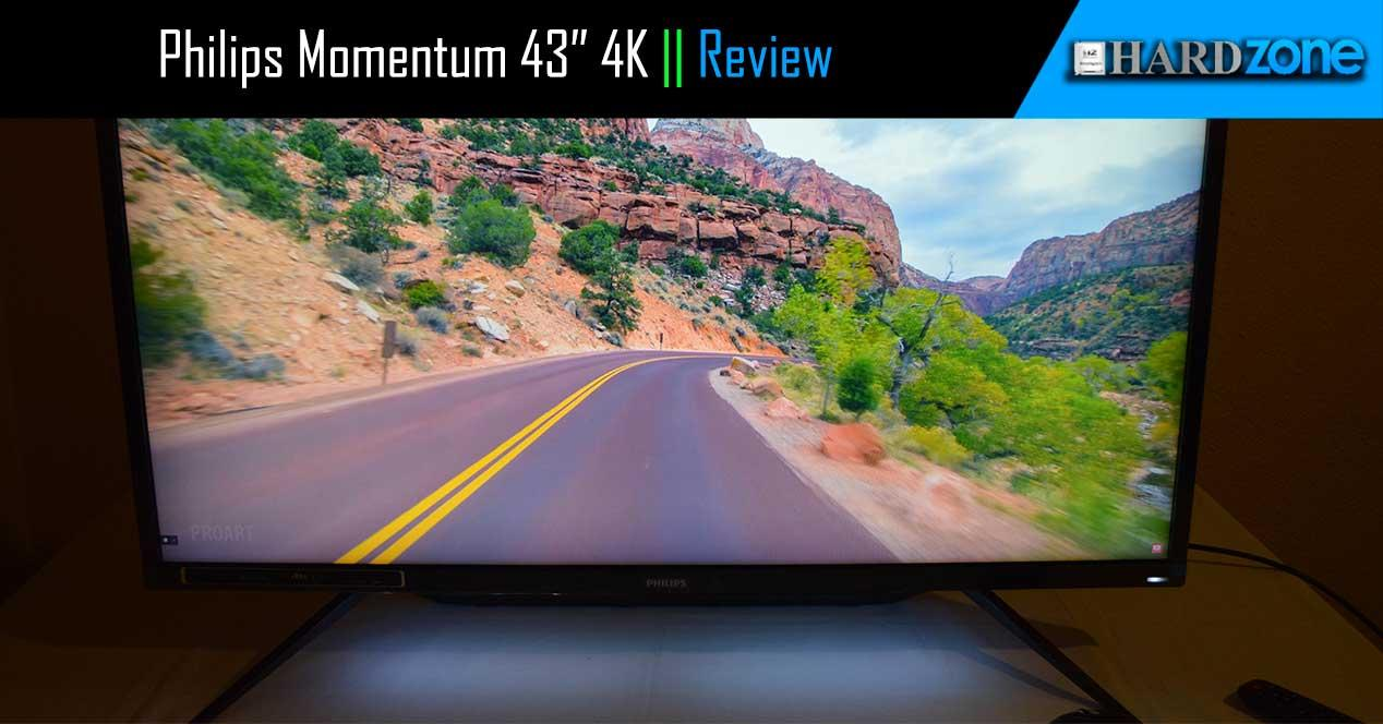 Review Philips Momentum 4K