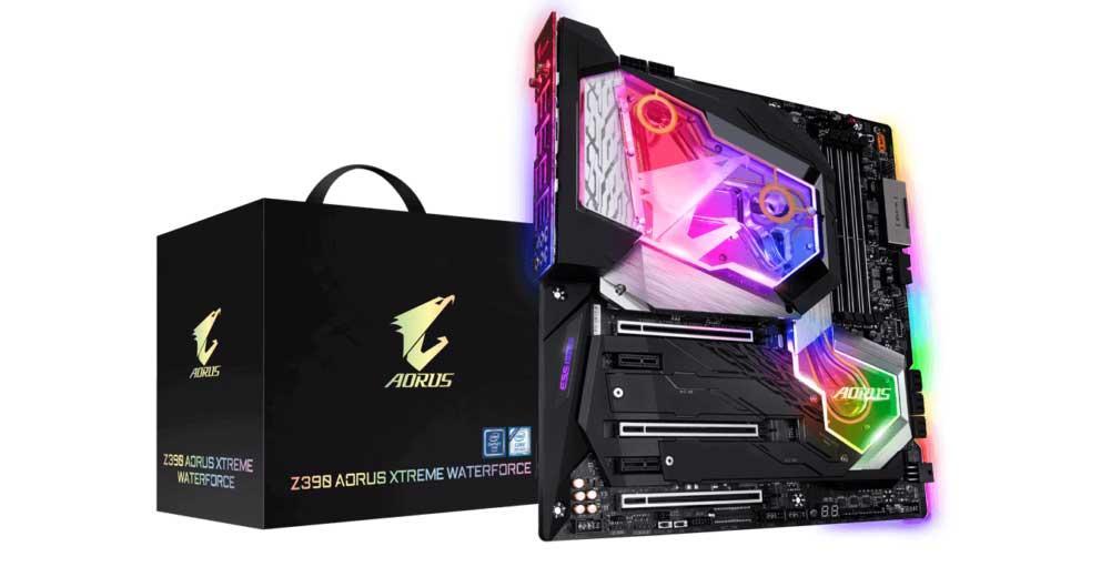 Gigabyte-Z390-AORUS-Xtreme-WaterForce-1
