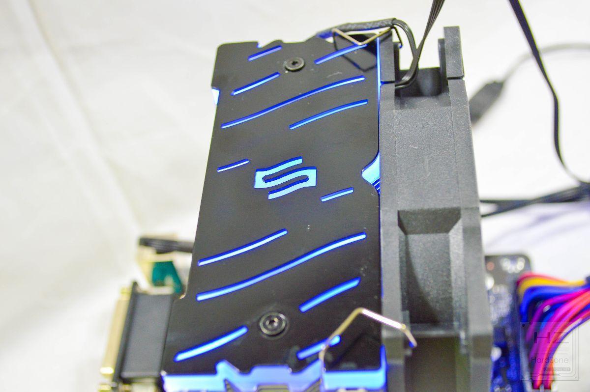 SilentiumPC Fera 3 RGB - Review montada 3