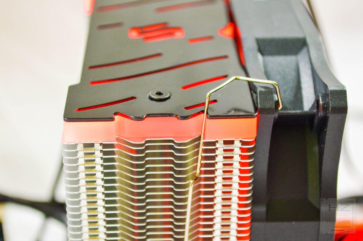 SilentiumPC Fera 3 RGB - Review montada 4
