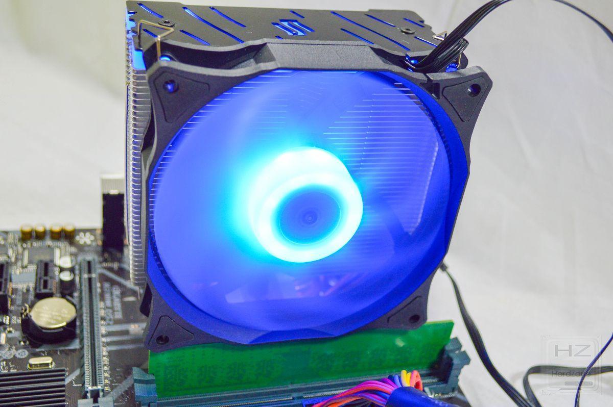 SilentiumPC Fera 3 RGB - Review montada 5