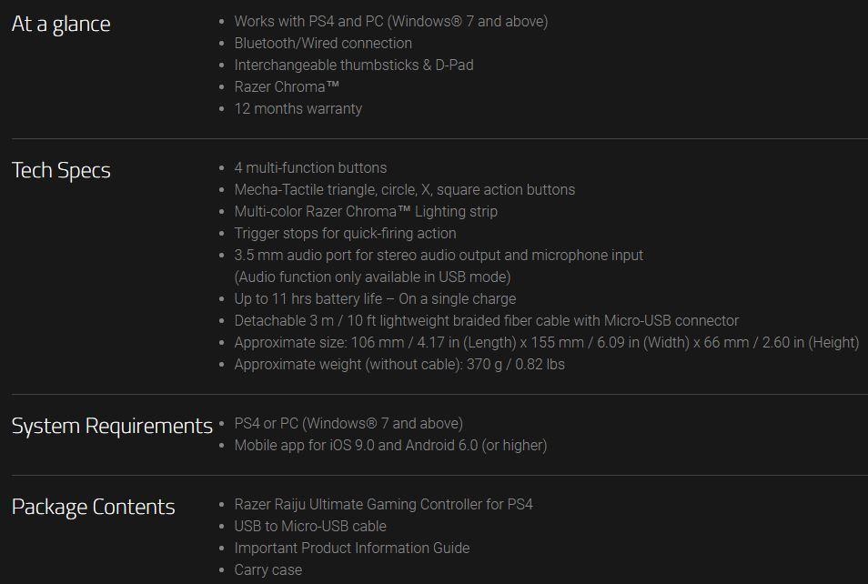 Razer Raiju Ultimate, review: el mando para PS4 y PC que todo gamer