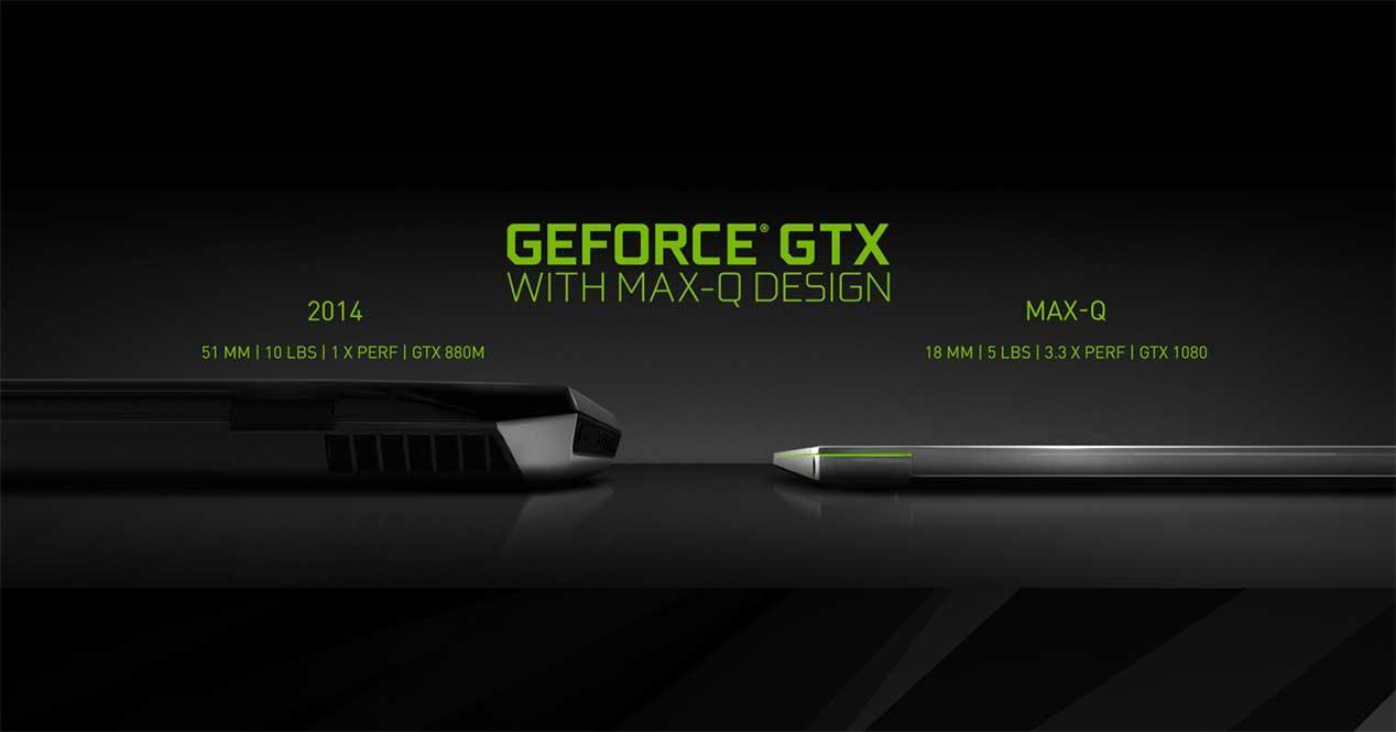 NVIDIA Max-Q: adiós a las GPU de bajo consumo para portátiles