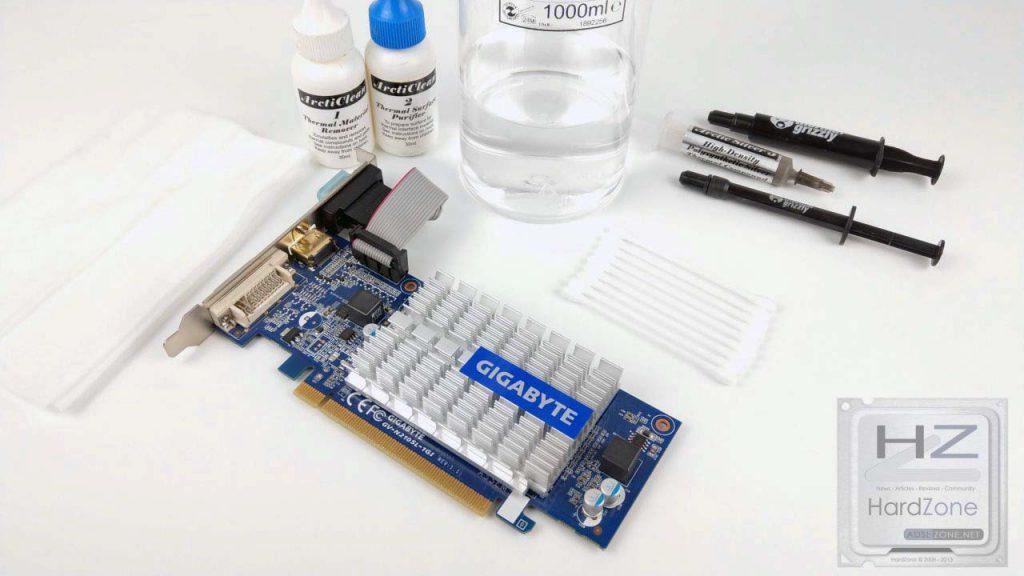 Cambiar pasta térmica GPU001