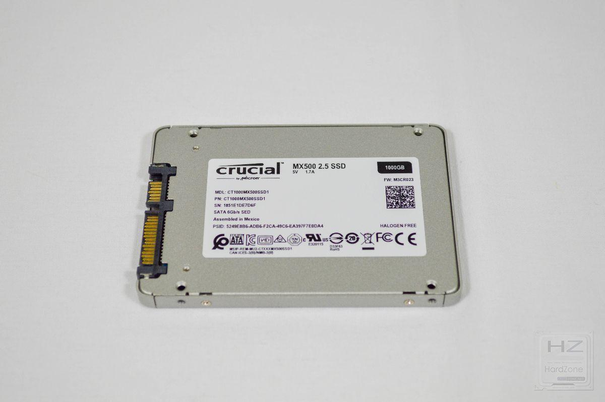 Crucial MX500 1 TB - Review 3