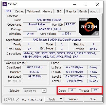 Cómo comprobar el número de núcleos e hilos de tu procesador en Windows 10 4