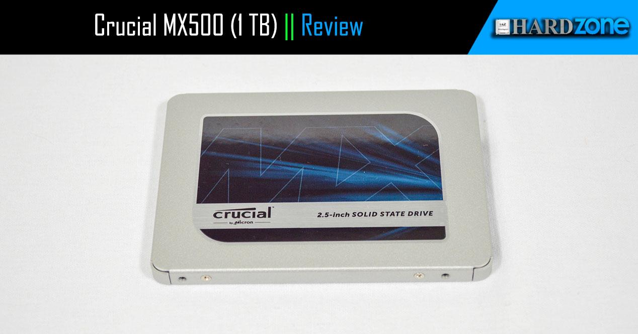 Review Crucial MX500 1 TB