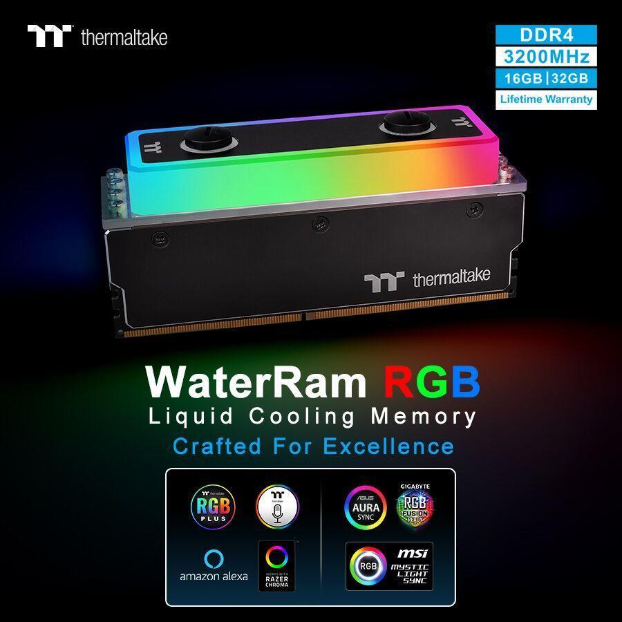 Thermaltake Memoria RAM H2O 2