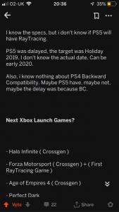 XBox Scarlett PS5 Filtraciones 3