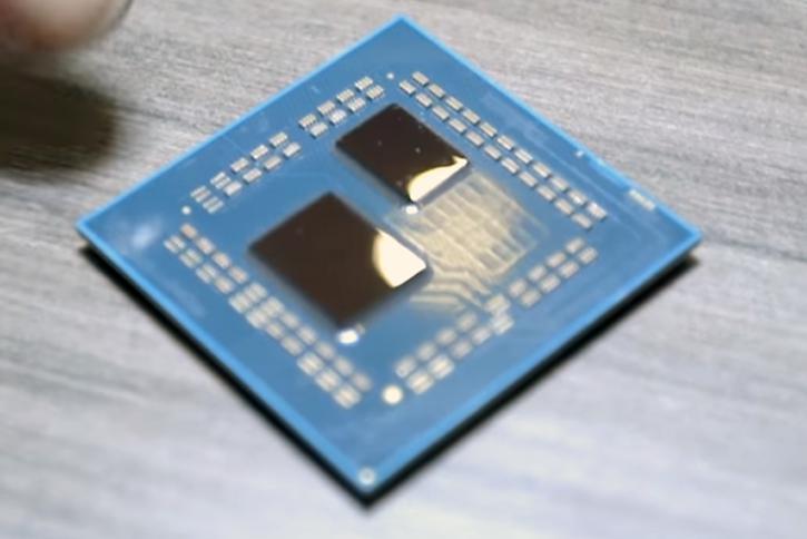 AMD Zen 2 chiplet vacío