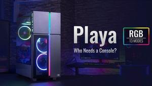 Aerocool Playa XL: nueva caja con cristal templado inspirada en el diseño de las consolas