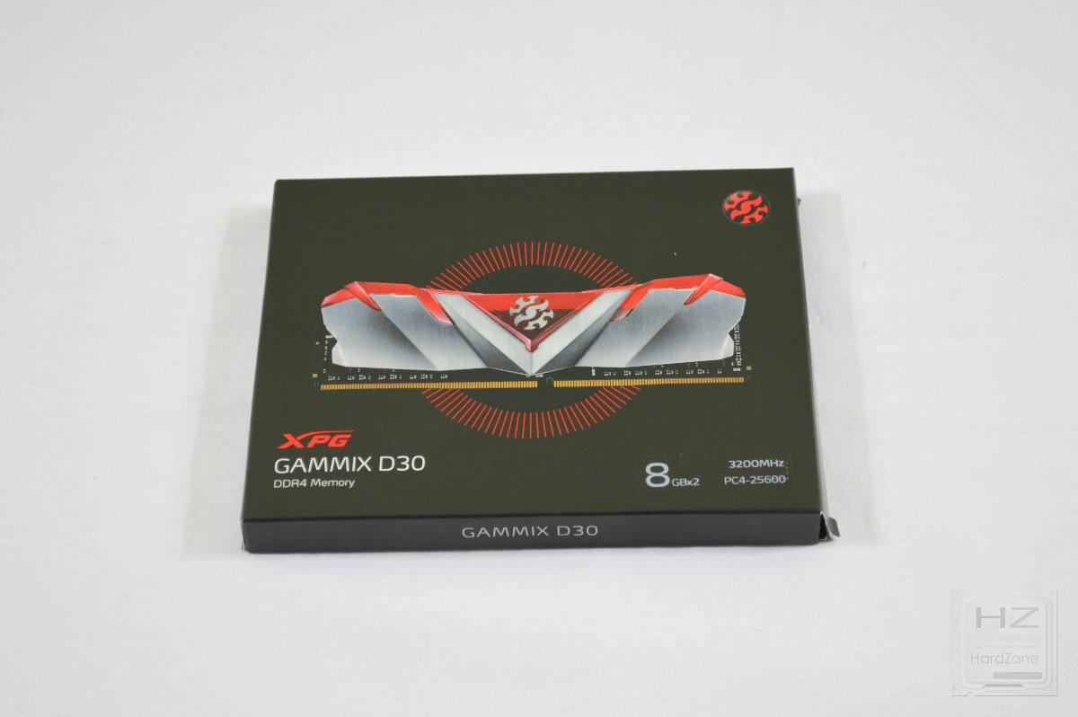 DDR4 XPG GAMMIX D30 2x8GB 3200 MHz - Review 1