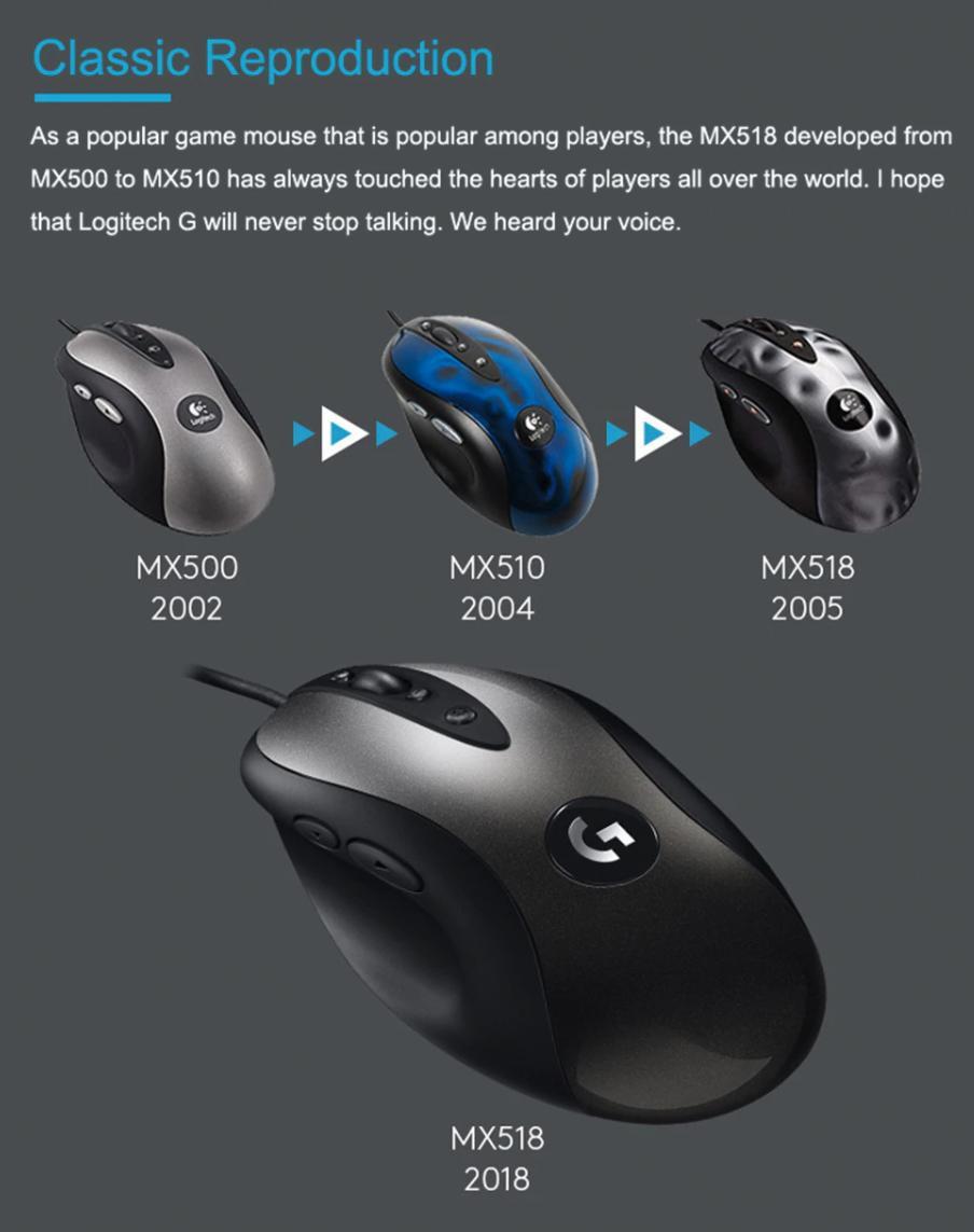 Logitech-MX518-Legendary-evolution