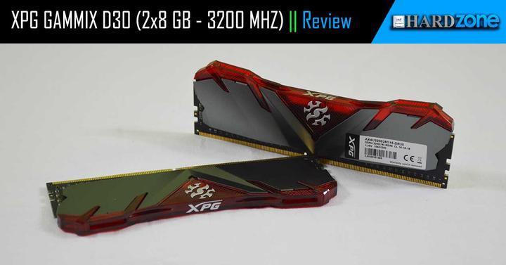 XPG GAMMIX D30 (2x8 GB 3200MHz), review: analizamos este pack de