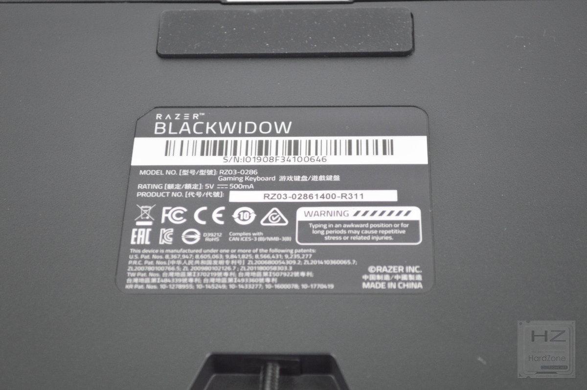 Razer BlackWidow 2019 - Review 25
