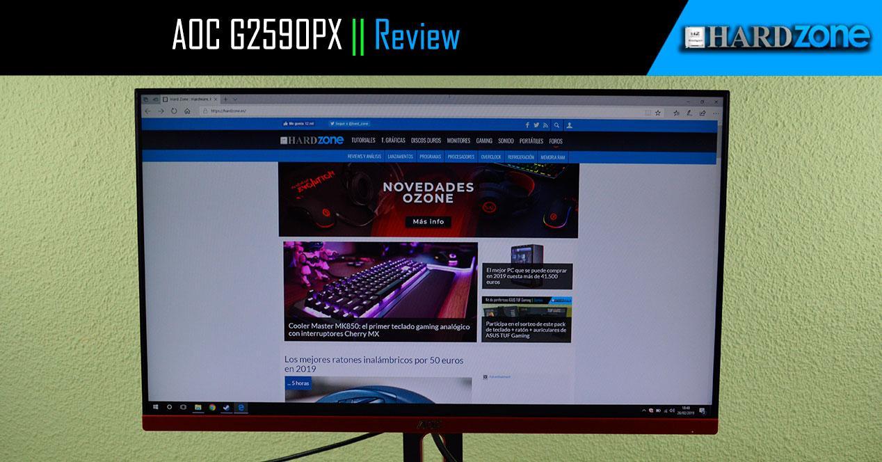 Review AOC G2590PX