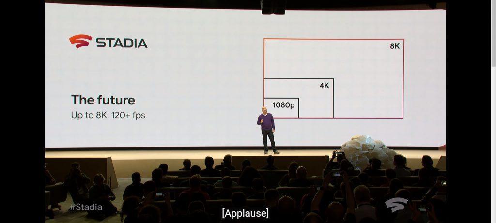Stadia Google 4K 8K