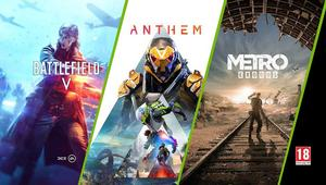 Battlefield V, Metro Exodus y Anthem gratis al comprar una NVIDIA GeForce RTX