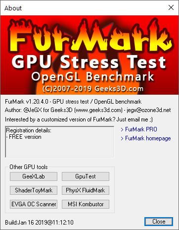 FurMark: cómo usarlo para comprobar la estabilidad de