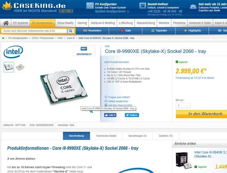 Intel-Core-i9-9990XE-Mindfactory