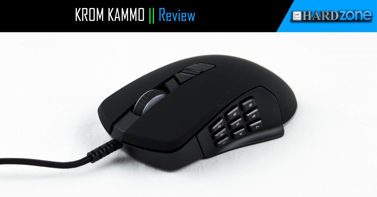 Ver noticia 'KROM Kammo, review: ratón gaming con 14 botones programables'