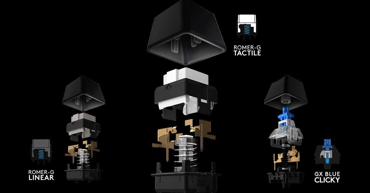 Logitech-Switch-mecánicos