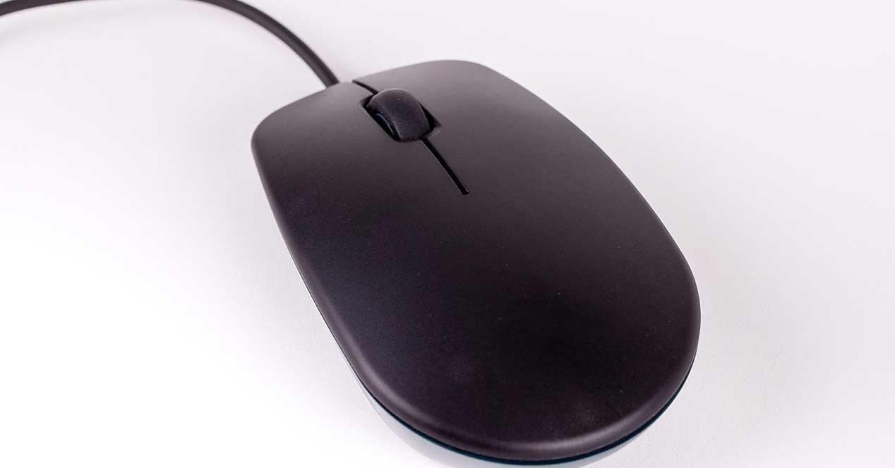 Raspberry Pi Ratón negro
