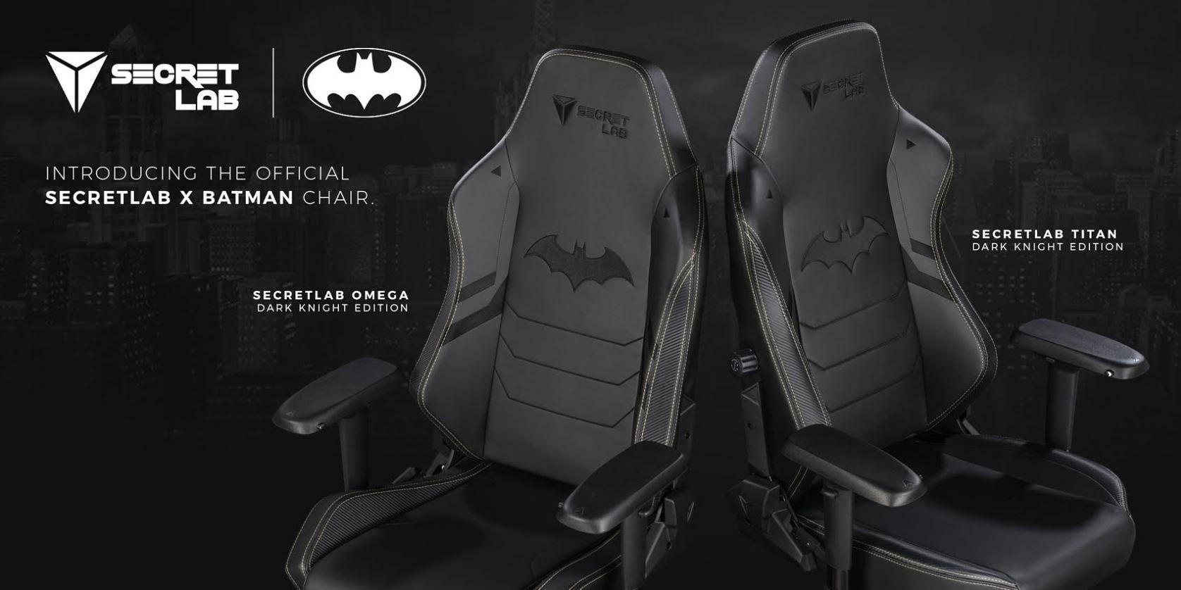 Batman De Gaming Secretlab Con Dark Temática KnightSillas 3jA54qRL