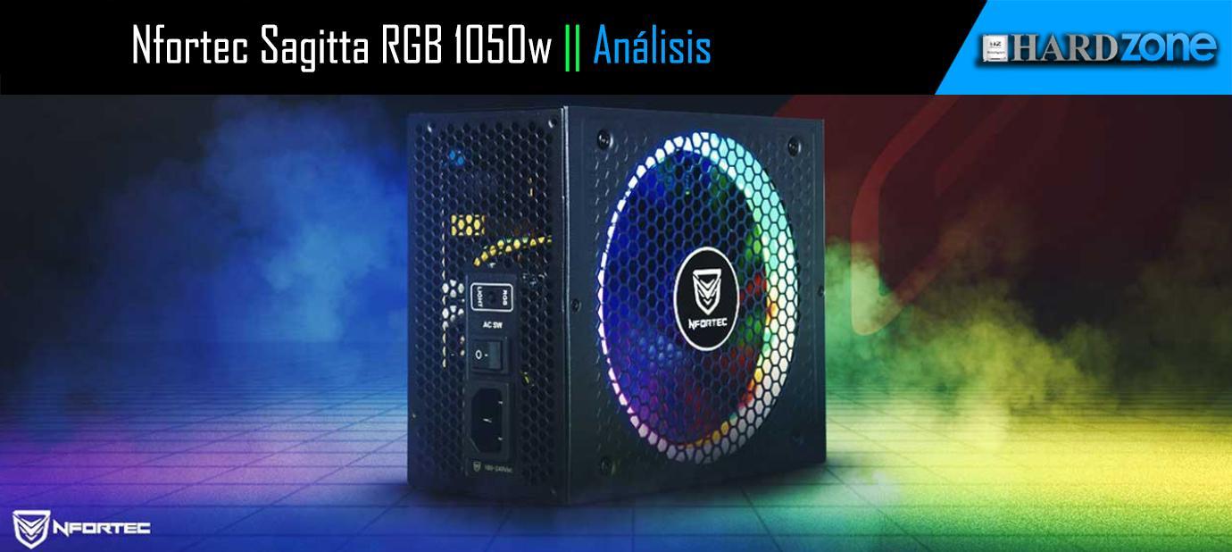 Ver noticia 'NFORTEC Sagitta 1050 RGB, review: fuente 80 Plus Gold de 1050W con RGB'