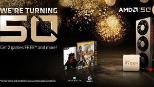 AMD50: más ofertas por su aniversario, como una RX 580 por 129,95 euros