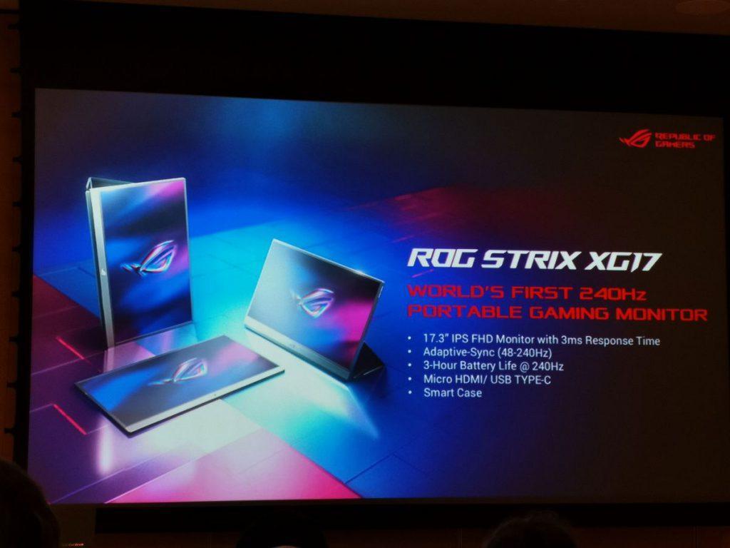 ASUS ROG Strix XG17 - Presentación 1