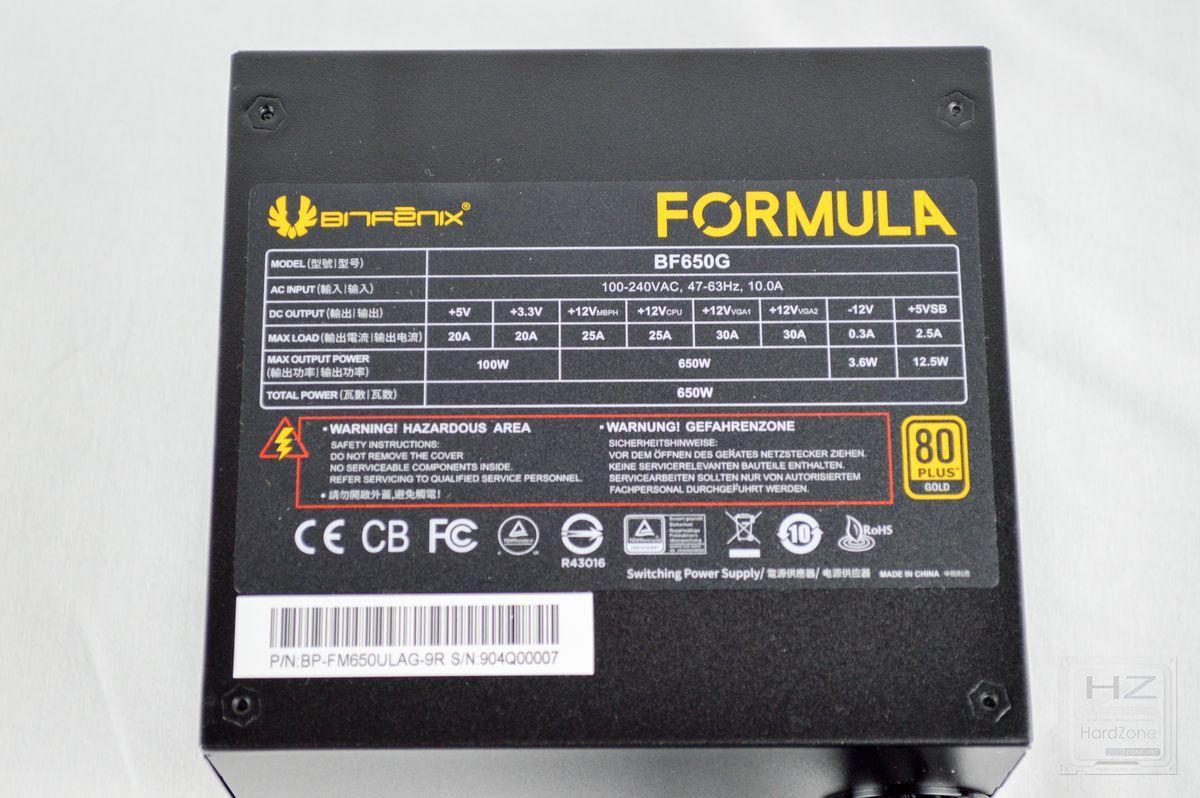 BitFenix Formula Gold (650W) - Review 9