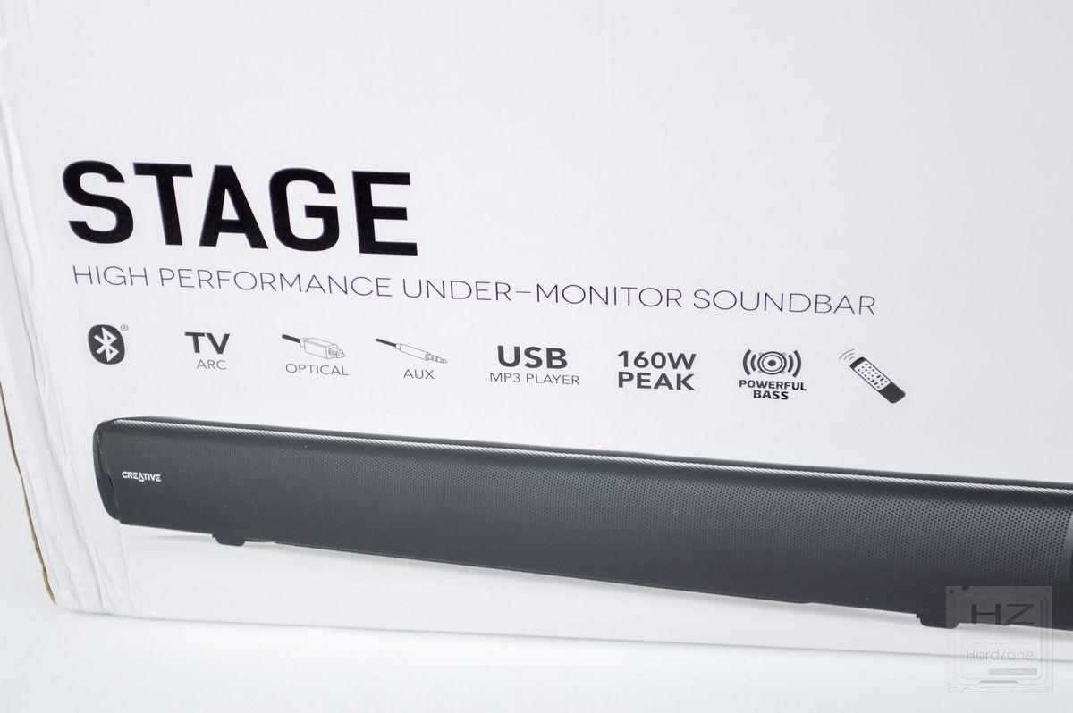 Creative Stage 2 1, review: barra de sonido 2 1 para colocar