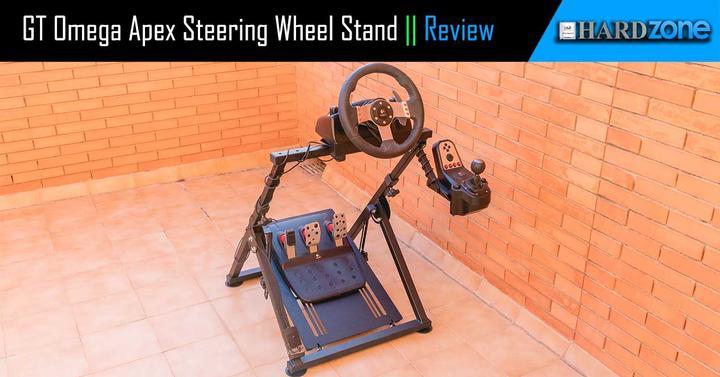 dedda5950bd GT Omega Apex Steering Wheel Stand, review: excelente soporte para tu  volante